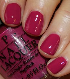 OPI Spare Me a French Quarter?                                                                                                                                                                                 More Nail Polish 2016, Opi Pink Nail Polish, Shellac French Manicure, French Pedicure, Nail Polishes, Shellac Nails, Nail Colors For Spring, Pretty Nail Colors, Pretty Nails