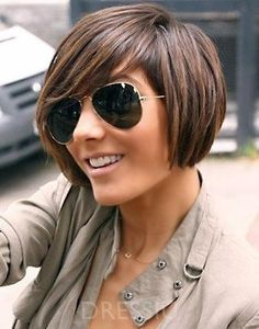 Short Bob Human Hair Wig Mixed Color for Black Women – dressiu Cute Bob Haircuts, Angled Bob Hairstyles, Undercut Hairstyles, Hairstyle Short, Bangs Hairstyle, Hairstyles 2018, Black Hairstyles, Summer Hairstyles, Hairstyle Ideas