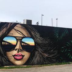 Mike Sander in Port Noarlunga, South Australia, Australia, 2019 Street Wall Art, Best Street Art, Street Art Graffiti, Banksy, Dark Fantasy Art, Tag Art, Urban Art, Rue, Home Art