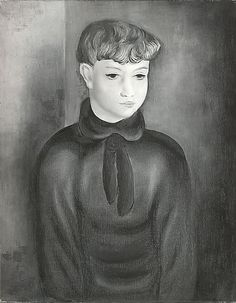 Moise Kisling Boy in Blue oil,Met Museum. Gift of Adelaide Milton DeGroot, 1967. Accession number 77.
