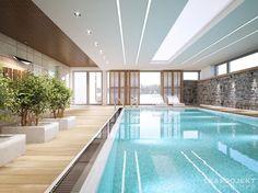 Descubra fotos de Piscinas modernas por LK&Projekt GmbH. Encontre em fotos as melhores ideias e inspirações para criar a sua casa perfeita.
