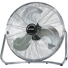 """Optimus 12"""""""" Industrial Grade High Velocity Fan - Painted Grill"""