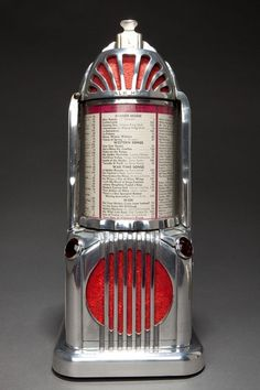 Art Deco Shyvers Multiphone Jukebox Selector - Incredible Skyscraper Design by jannyshere