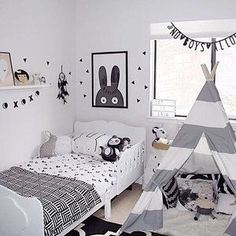 Kid's bedrooms! Decorate it like a pro. Inspirational images for your kids room - tent