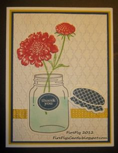 FireFly's Cards - Stampin' Up!'s Field Flowers and Perfectly Preserved stamps