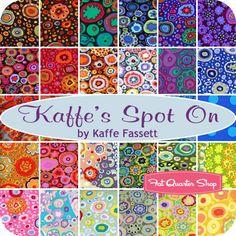 Kaffe's Spot On Design Roll Kaffe Fassett for Westminster Fibers - Fat Quarter Shop