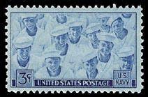 1944 Navy, World War II Scott 935 Mint F/VF NH
