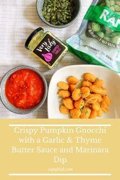 Vegeterian Dishes, Pressure Cooker Cookbook, Pumpkin Gnocchi, Free Recipes, Healthy Recipes, Garlic Butter Sauce, Pescatarian Recipes, Food Cravings, Dips