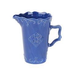 Blue Sweet Olive Ceramic Pitcher | Kirklands. This is nice  pitcher