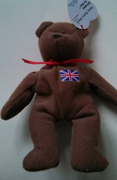 5f61323fb70 Beanie Baby Bear Mini England