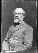 *ROBERT E. LEE: During the Mexican War, Lee was promoted to Colonel due to his gallantry + distinguished conduct in performing vital scouting missions. In 1852, he became Superintendent of the Military Academy. In 1855, Secretary of War Jefferson Davis transferred Lee from staff to line + was commisioned Lieutenant Colonel 2nd Cavalry. He was then sent to West Texas, where he served from 1857-18671.