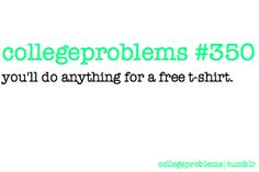 college problems 350...you know you will.