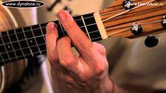 Видео урок: как играть песню Loosing My Religion - R.E.M. на укулеле (га...