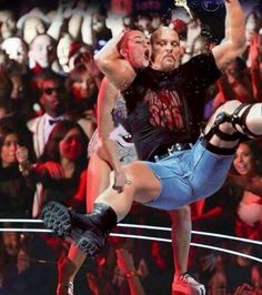 Stone cold stunner to Miley! That's the bottom line cus stone cold said so! Wrestling Superstars, Wrestling Wwe, Stone Cold Stunner, Wwe Raw And Smackdown, Wwe Funny, Wwe Tna, Stone Cold Steve, Wwe World, Steve Austin
