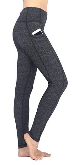 Amazon.com  Neonysweets Women s Ladies Workout Leggings With Pocket Running  Yoga Pants Ankle Tights  Clothing 1fe7b8eabc8e