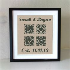 Love has so many different faces! We are pleased to offer you an original wedding sampler cross stitch pattern in a rustic style.One of the kind love embroidery design will remind you about an important event in your life or be a great gift to newlyweds. Cross Stitch Sampler Patterns, Wedding Cross Stitch Patterns, Cross Stitch Fabric, Cross Stitch Heart, Modern Cross Stitch, Cross Stitching, Cross Stitch Embroidery, Embroidery Patterns, Floral Embroidery