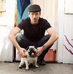 hugh-laurie-pug-dogSpecial pug #pugswithcelebrities #pugswithfamouseguys #pugswithpopularactors #pugsandactors #pugandcelebrities #pugswithstars