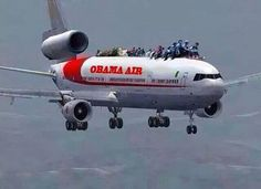 Obama Air  http://baystateconservativenews.com SUBSCRIBE - http://www.reddit.com/r/MAConservative/ FOLLOW - http://www.twitter.com/Sunking278/ LIKE - https://www.facebook.com/pages/Bay-State-Conservative-News/232712126794242 PIN - http://www.pinterest.com/KingArthur278/politics-conservatism-2014/ INFOWARS.COM  BECAUSE THERE'S A WAR ON FOR YOUR MIND