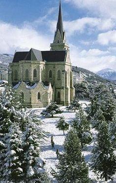 †~ Catedral de Bariloche! ~†~ Argentina ~†                            #cathedral. #argentina