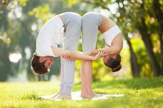 Practicing Yoga With Your Partner