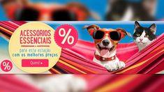 Oportunidade: Acessórios para cães e gatos até 50% de desconto