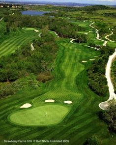 Strawberry Farms Golf Club, Irvine, CA  -  my favorite golf course in Orange County.