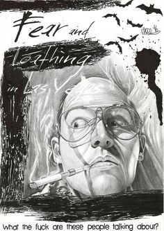 Fear and Loathing Johnny Depp Sketch