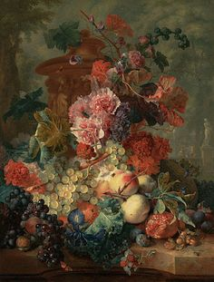 Fruit piece  Jan Van Huysum 1722