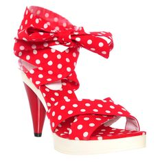 Cecci red shoes