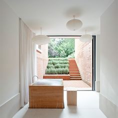 Stepped garden w stairs