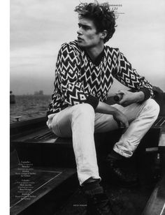 Sea Breeze: Gen Huismans for Vogue Hommes International
