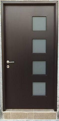 Pergola Over Front Door Bedroom Door Design, Door Gate Design, Wooden Door Design, Door Design Interior, Main Door Design, Window Design, Wooden Doors, Modern Exterior Doors, Modern Front Door