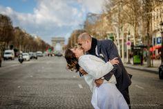 Mini-wedding em Paris, 2014. Tatiane e Alexandre.