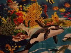 """Captivating """"OCEAN LIFE"""" Handmade Cotton Pillowcase Standard/Queen #Handmade #Nature"""