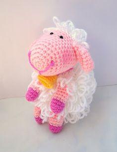 AllSoCute Amigurumis: Amigurumi Crochet Lamb / Örgü Kuzu