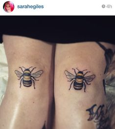 The Bee Knees   tattoo   ink