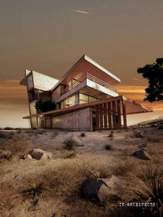 Ultra modern houses & buildings   From up North