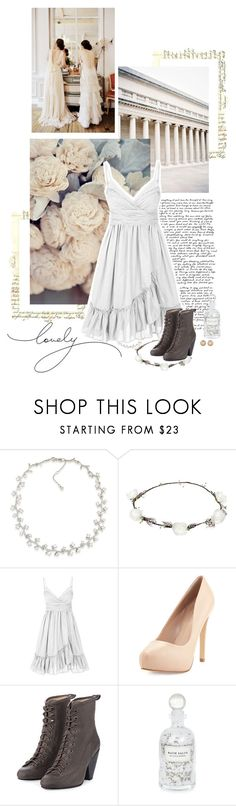 """""""delicacy and strength"""" by summersdream ❤ liked on Polyvore featuring Carolee, Tiffany & Co., Lipsy, Charles by Charles David, rag & bone, Mullein & Sparrow and Chanel"""
