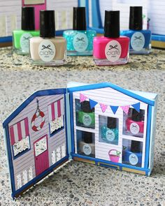 Ciate Beach House Collection- Swatches and Review! #nails #nailpolish #ciatelondon #beach