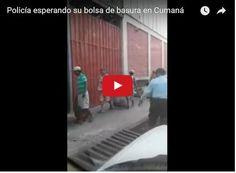 Policía sorprendido llevándose una bolsa de desperdicios para comer  http://www.facebook.com/pages/p/584631925064466