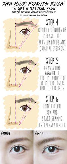 HOW TO: Shape and Groom Eyebrow (For Beginners) | MADOKEKI beauty, skincare, style
