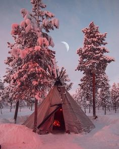 Happy Campers Make Your Next Camping Trip A Success With These Tips – Discount Tent Store Beautiful Places, Beautiful Pictures, Native American Wisdom, I Love Winter, Winter Time, Summer Time, Winter Scenery, Winter Camping, Winter Beauty