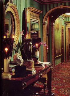 Oscar de La Renta's New York apartment by Denning & Fourcade