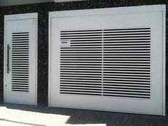 portas para garagem de correr articulada - Pesquisa Google