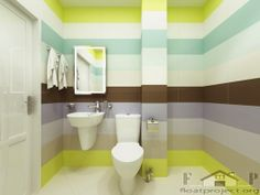 colorful bathroom ideas