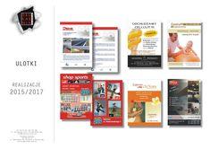 portfolio reklamy drukarnia arek 6_1projektowanie graficzne wizualizacja drukarnia mińsk mazowiecki   reklama, projekt graficzny #logo Logo, Shopping, Logos, Environmental Print