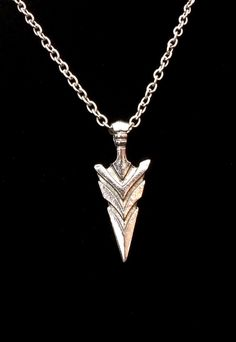 A personal favorite from my Etsy shop https://www.etsy.com/listing/471500528/arrowhead-silver-surgical-steel-tribal