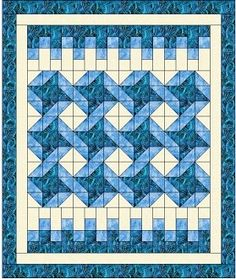 "This is the newest Heirloom Elegance Designs 3-yard quilt pattern!  We are excited by this one because it is so different from previous ones.  Finished, it is 42 1/4' x 501/4"" but it can be expanded with extra borders to give it a different look.  Try out"