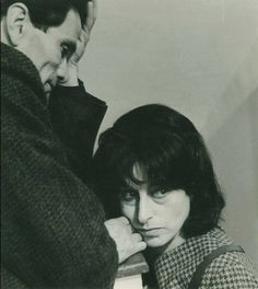 Pier Paolo Pasolini and Anna Magnani Anna Magnani, Pier Paolo Pasolini, Werner Herzog, Inspirational Movies, Music Aesthetic, Iconic Women, Young And Beautiful, Film Director, Vintage Photography
