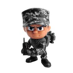 ecea78c141 U.S. Army Lil  Troops Urban Trooper Collectible Action Figurine Toy Urban